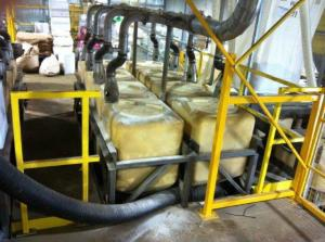 Extraction system on animal nutrition application